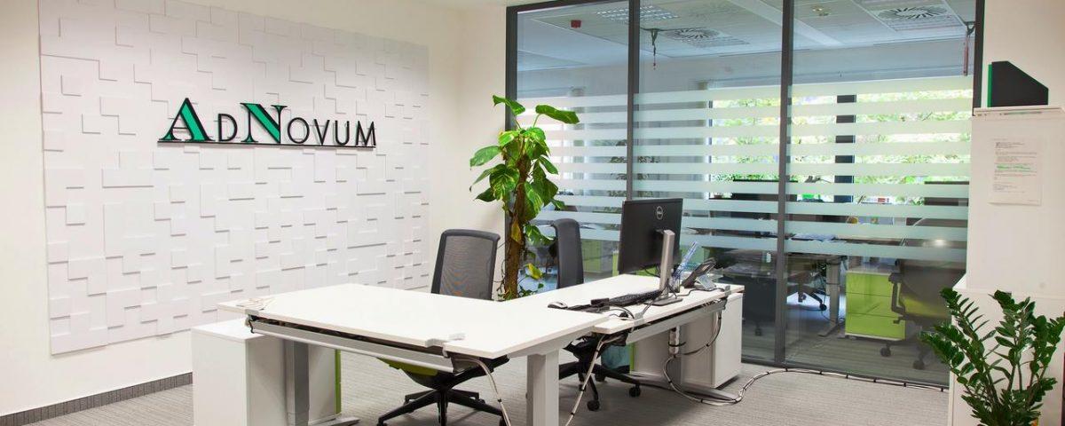 Tridom P Kft - AdNovum irodaház bérlemény kialakítás