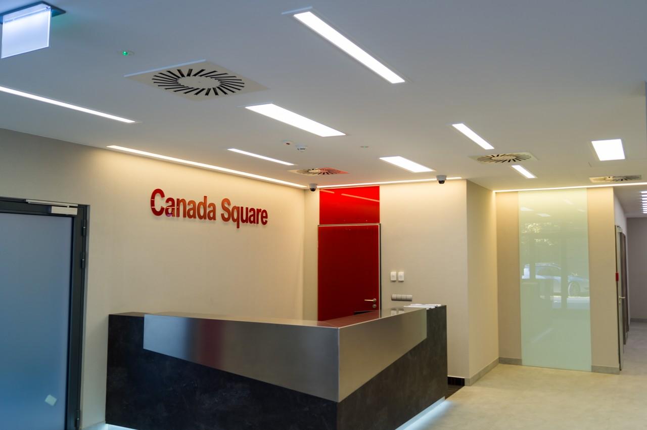 Recepció - Canada Square Irodaház - tridomp.hu